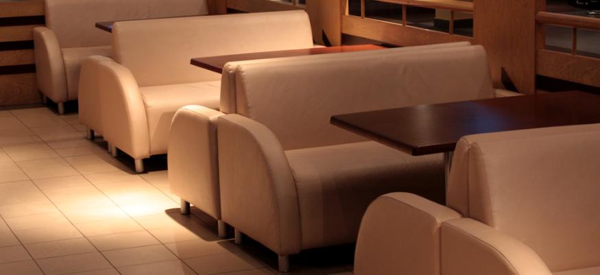 диван для кафе