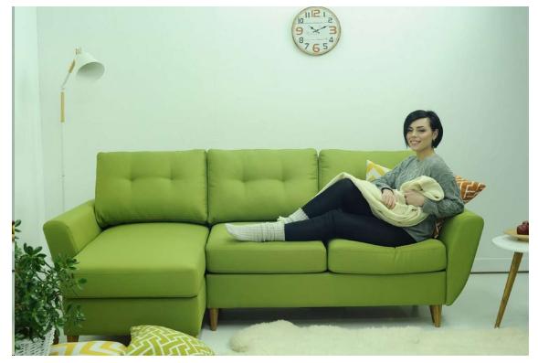 """Маленький кутовий диван """"Хоум"""""""